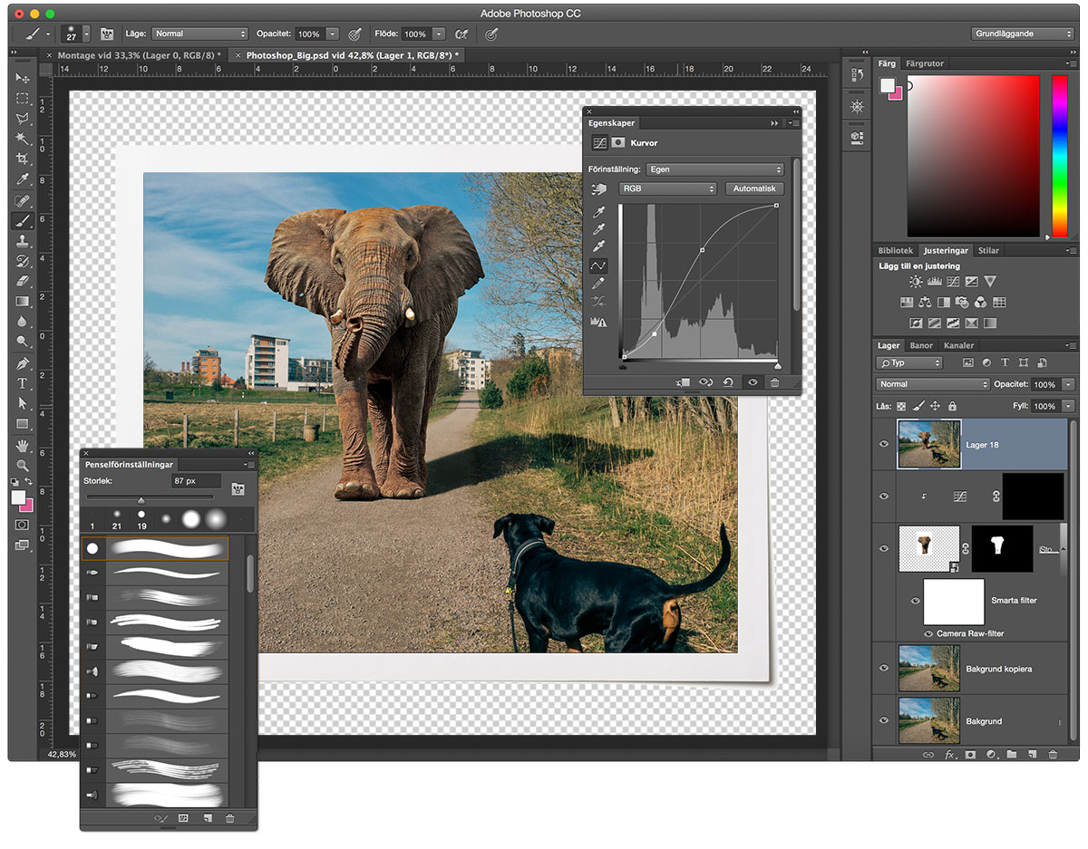 förbättra bilder i photoshop