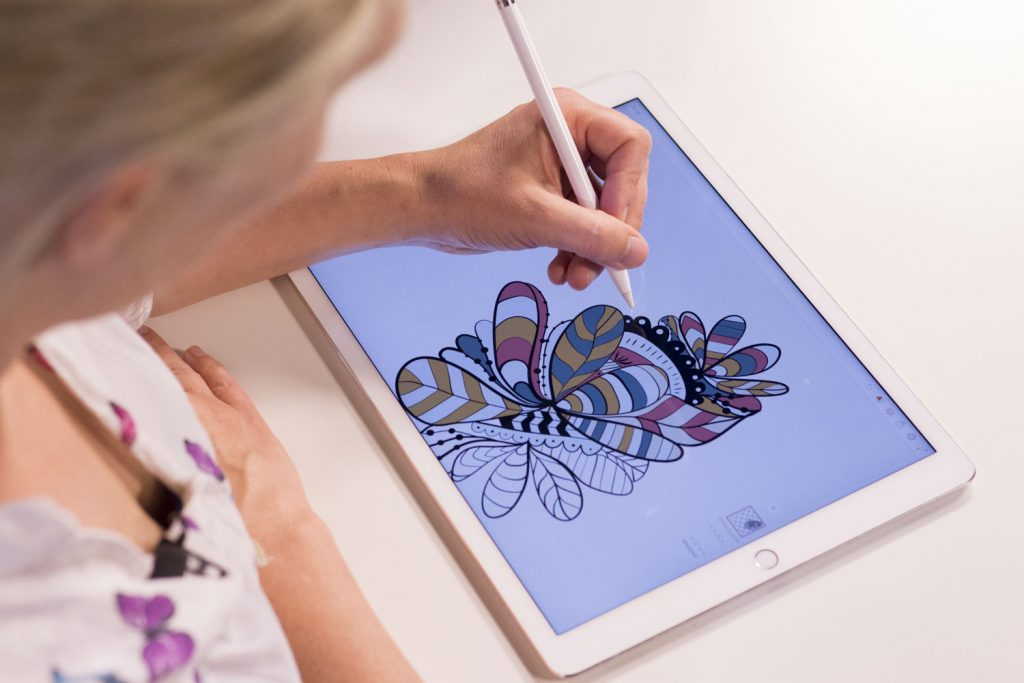 Rita i appen Draw  fefb71535b490